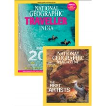 National Geographic+ National Geographic Traveller India, 1 year, english