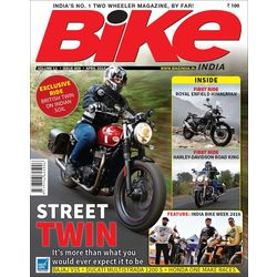 Bike India, 1 year, english