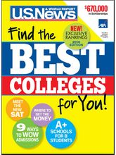 U S News College Guide, 1 year, english