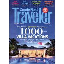 Conde Nast Traveler, 1 year, english