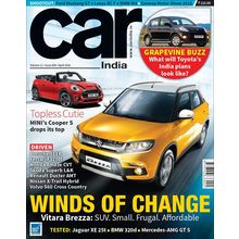 Car India, 3 year, english