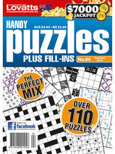 Handy Puzzles, english, 1 year