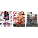 Vogue+ GQ+ Architectural Digest, 1 year, english