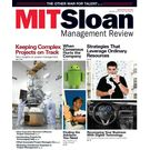 MIT Sloan Management Review, 1 year, english