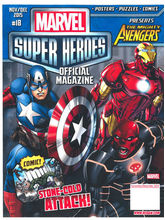 Marvel Super Heroes, 1 year, english