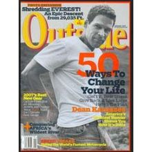 Outside Magazine, 1 year, english