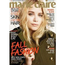 Marie Claire, 1 year, english