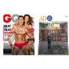 GQ+ Architectural Digest, 1 year, english