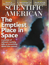 Scientific American, 1 year, english