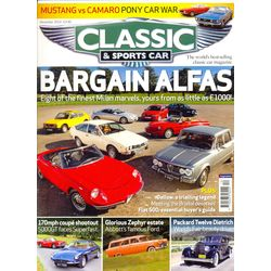 CLASSIC & SPORTSCAR, 1 year, english