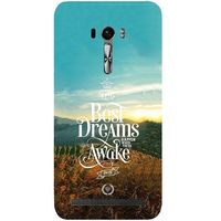 Casotec Dreams Design Hard Back Case Cover for Asus Zenfone Selfie ZD551KL