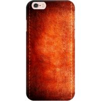 DailyObjects Dark Leather Print Case For iPhone 6s