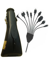 Callone USB Car Charger Multi 10 in 1, black