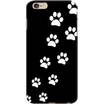 DailyObjects Cats Paws Black Case For iPhone 6 Plus