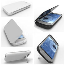 Callmate 3200 Mah Charging Case For Samsung Galaxy S3,  white