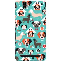 DailyObjects Blue Puppy Case For Sony Xperia T2 Ultra