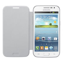 Samsung Flip cover for Galaxy Grand Quattro,  white