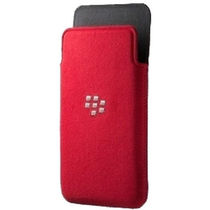 BlackBerry Microfiber Pocket Cover for BlackBerry Z10,  red
