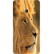 Casotec Lion Design Hard Back Case Cover for Microsoft Lumia 540