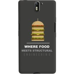 DailyObjects Burger Case For OnePlus One