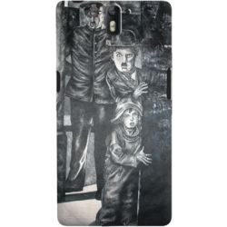 DailyObjects Charlot And The Tramp Case For OnePlus One