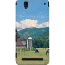 DailyObjects Country Life Case For Sony Xperia T2 Ultra