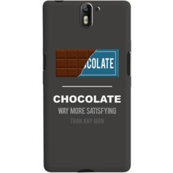 DailyObjects Chocolate Case For OnePlus One