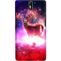 DailyObjects Cosmic Deer Case For OnePlus One