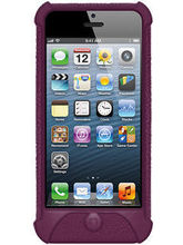 Amzer 94533 Silicone Skin Jelly Case - Purple - iPhone 5 (Purple)