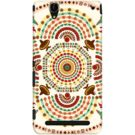 DailyObjects Cowboy Mustache Mexico Mandala Case For Sony Xperia T2 Ultra