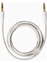 Callone Aux To Aux Aux Cable 1M, white Infibeam Rs. 118.00