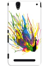 DailyObjects Colorful Peacock Case For Sony Xperia T2 Ultra