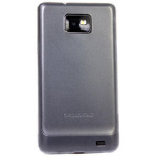 IAccy Thin White Transparent Case - Samsung Galaxy II (SS9009), standard-white
