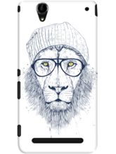 DailyObjects Cool Lion White Case For Sony Xperia ...