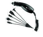 Callone Multi Car Charger 6 In 1, black