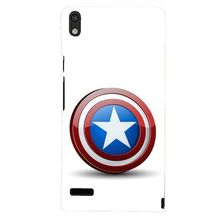 Flashmob Designer Back Cover for Huawei Ascend P6 (3D-ACENDP6-D966)