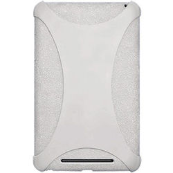 Amzer 94382 Silicone Skin Jelly Case Transparent White - Google Nexus 7 / Asus Nexus 7, standard-white