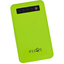 Essot Plymer Power Bank 4000 mAh,  green