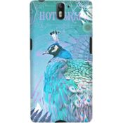 DailyObjects Blue Peacock Case For OnePlus One