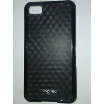 Livguard PC TPU Cover for Blackberry Z10,  black
