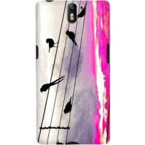 DailyObjects City Birds Case For OnePlus One