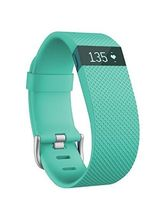 Fitbit Charge HR Heart Rate and Activity Wristband Large, teal