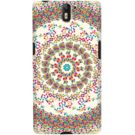 DailyObjects Confetti Mandala Case For OnePlus One