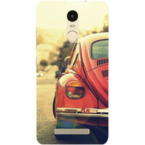 Casotec Vintage Car Pattern Design Hard Back Case Cover for Xiaomi Redmi Note 3