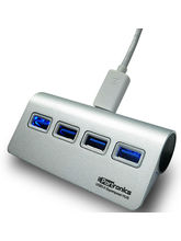 Portronics USB 3.0 Aluminium 4 port Superspeed HUB