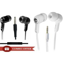Quantum 555 Earphones Combo,  black