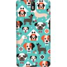 DailyObjects Blue Puppy Case For OnePlus One