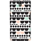DailyObjects Dark Abstract Pastel Case For OnePlus One