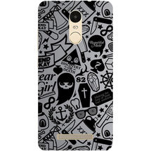 Casotec Discover Or Death Design Hard Back Case Cover for Xiaomi Redmi Note 3