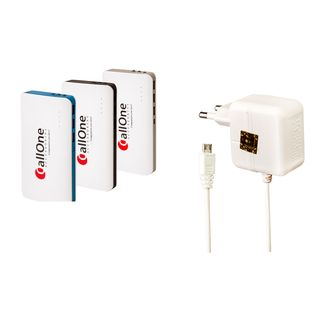 CallOne Combo  15600mAh Turbo Power Bank Mobking 2A Charger